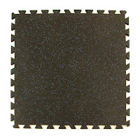 Greatmats rubber tiles for dog area flooring