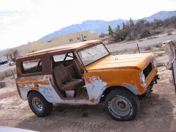 Restoration Project Cars: 1965 International Scout 80 Project