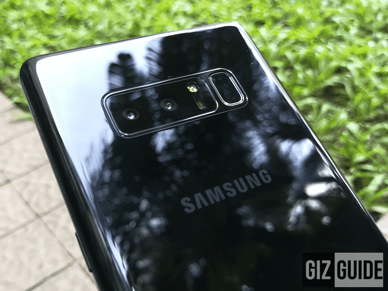 The first Samsung with dual camera setup