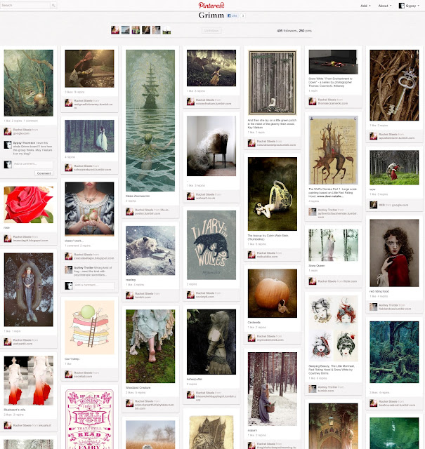 Humor Inspirational Quotes: Once Upon A Blog...: Pinterest Board Spotlight: Grimm