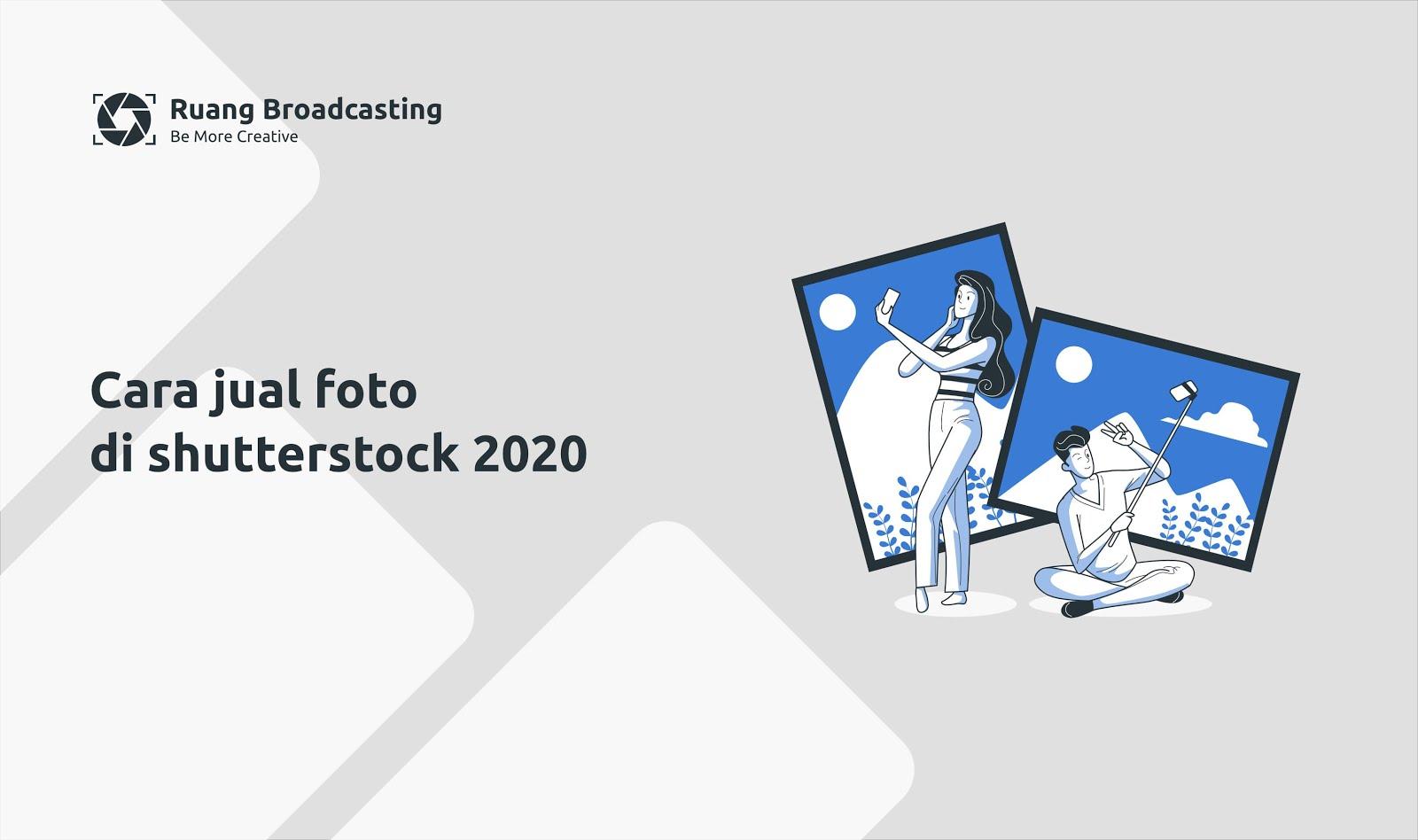 cara jual foto di shutterstock 2020