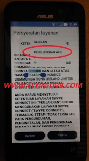 bypass email verifikasi ASUS_X009DA (ZB450KL) Tahap 5