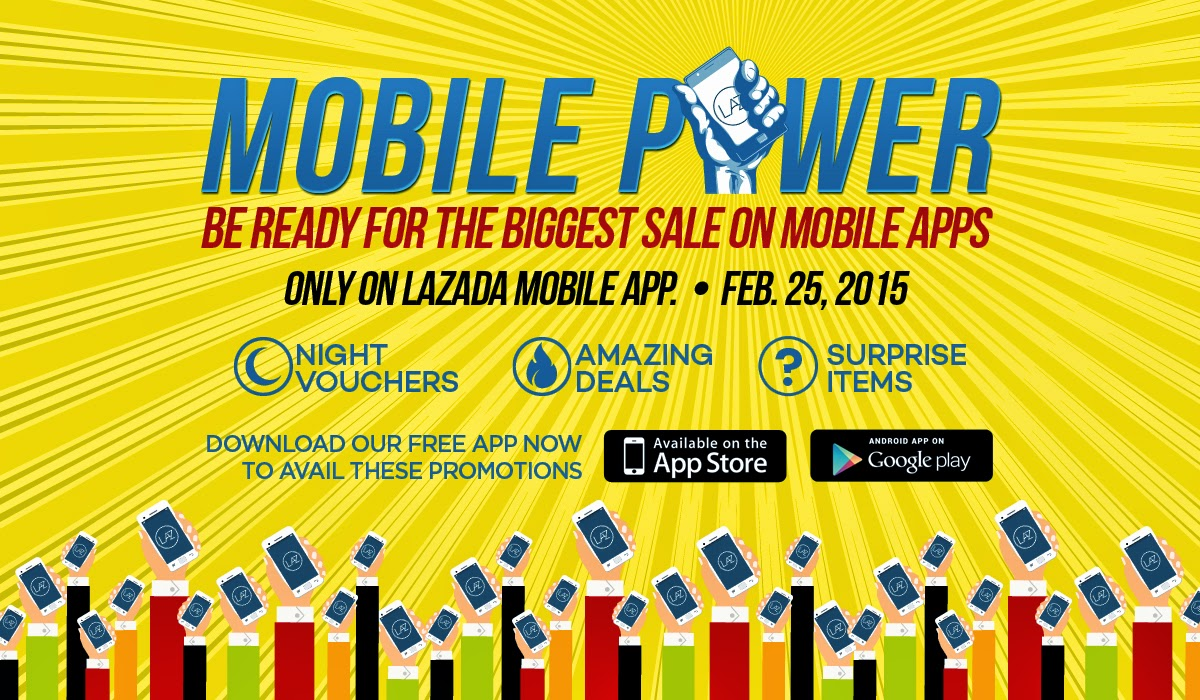 The Lazada Mobile Power Sale
