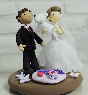 Best Pet and Brides Figurines Wedding Cake Topper