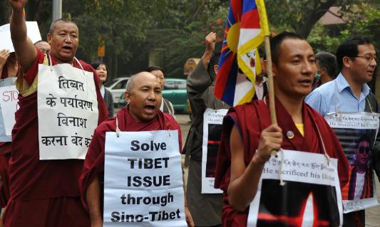 図:チベット人