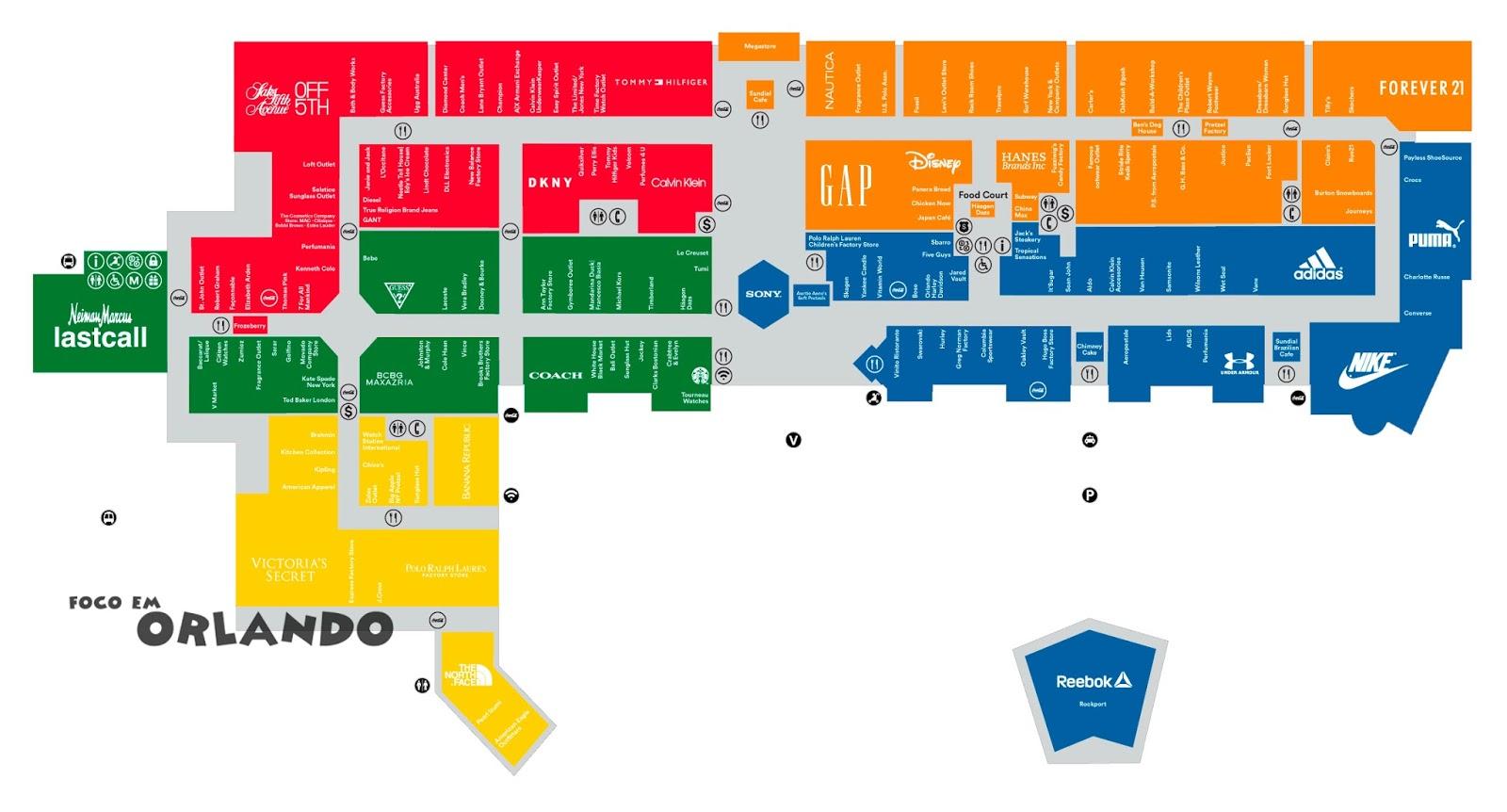 Mapa Orlando Premium International Drive