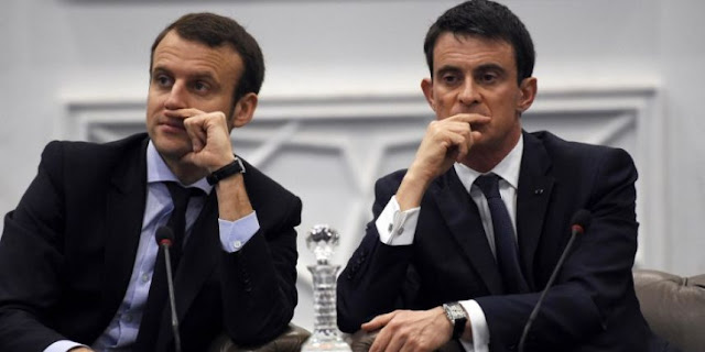 Macron qui fâche Valls