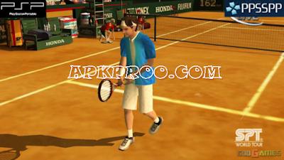 Game Virtua Tennis 3 PPSSPP ISO Ukuran Kecil Full Version Free Download
