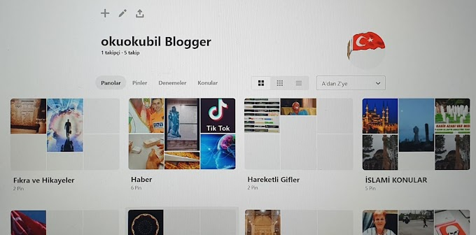 Pinterest Türkiye ve okuokubil Blogger Pin'lemek Nedir Sayfamızı Ziyaret ediniz.