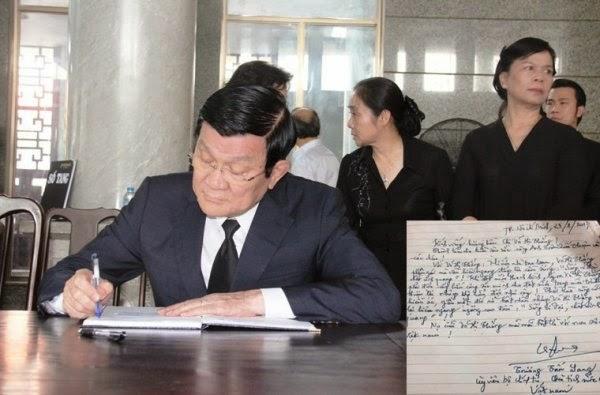 Chủ tịch nước Trương Tấn Sang nói
