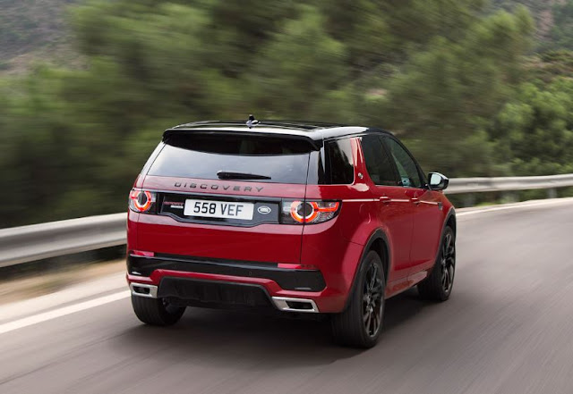 2016 latest Land Rover Discovery Sport