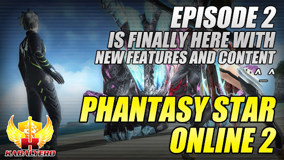 Phantasy Star Online 2 Episode 2 Is Here, New Features & Content Awaits