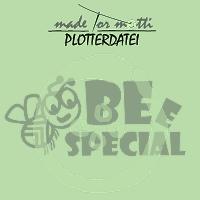 "Plotterdatei ""Biene Bee Special"""