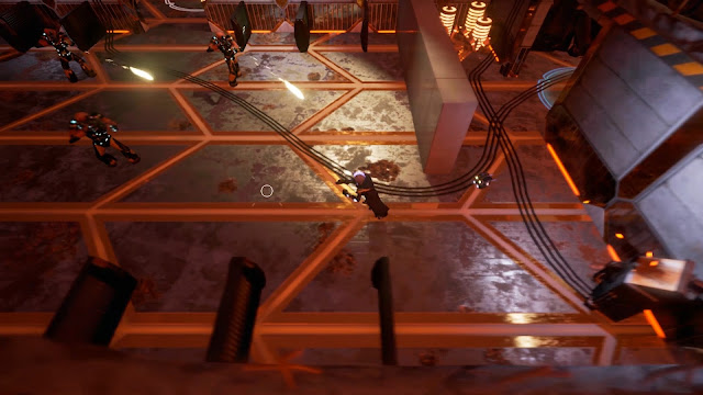 Imagem do game Eliosi's Hunt, desenvolvido pela TDZ