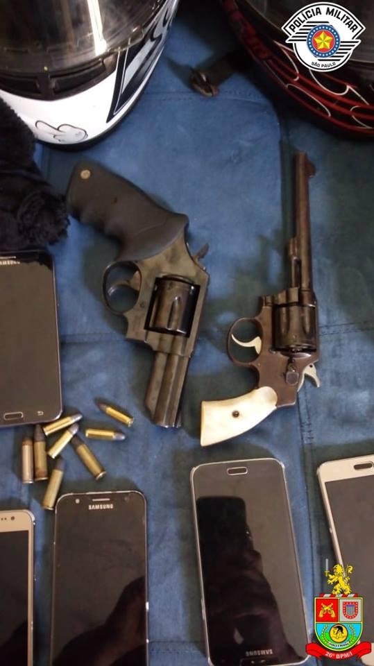 Polícia Militar de Mogi Guaçu prende quadrilha que realizava roubos e furtos na região