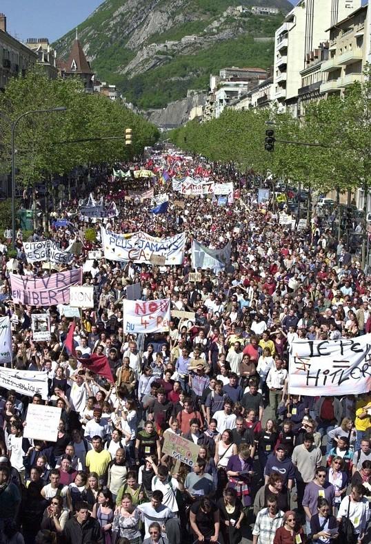 Grenoble, le 27 avril