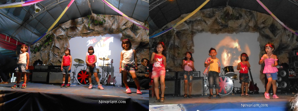 perform cilik dancer