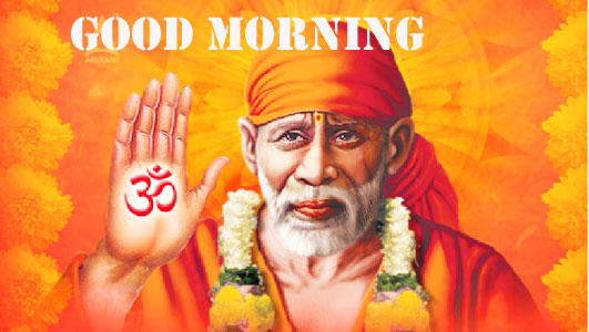 sai baba good morning pics