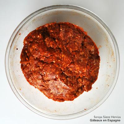 recette chorizo espagnol frais