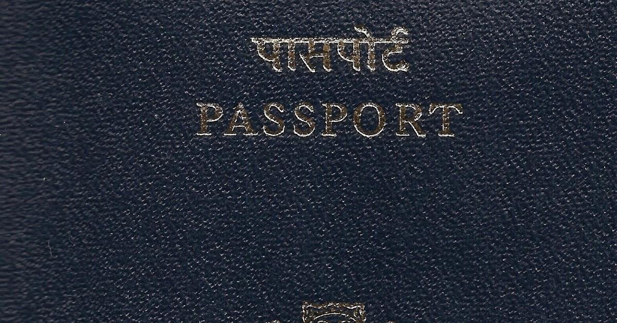 Indian Passport Renewal Application Form Pdf