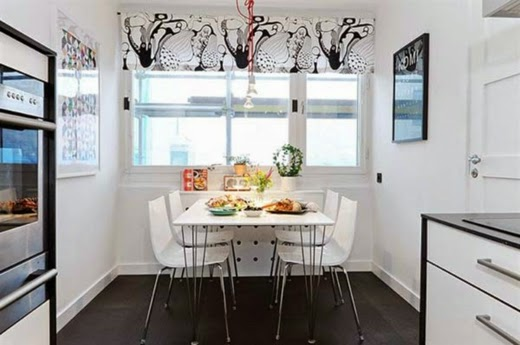 Dining rooms suitable for small spaces 6