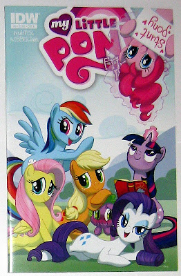 IDW MLP:FiM comic Cover A by Amy Mebberson