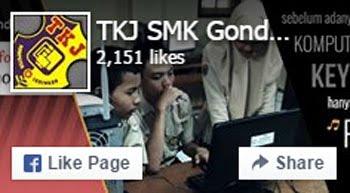 Facebook Page TKJ SMK Gondang