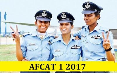 AFCAT 1 2017