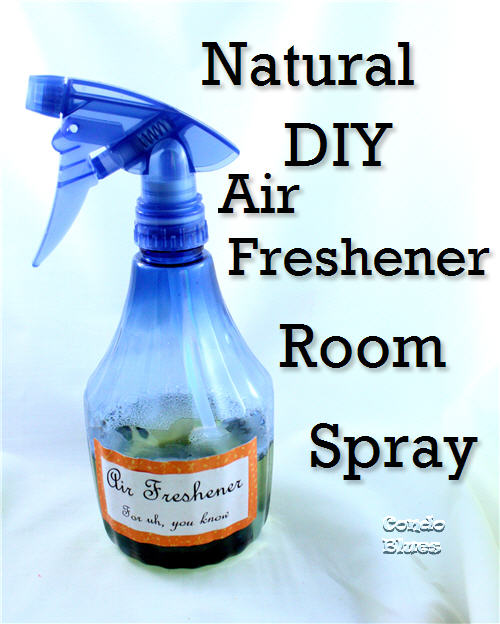 Quick, easy, and non toxic DIY air freshener room spray