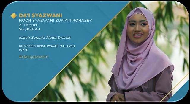 Biodata Da'i Syazwani