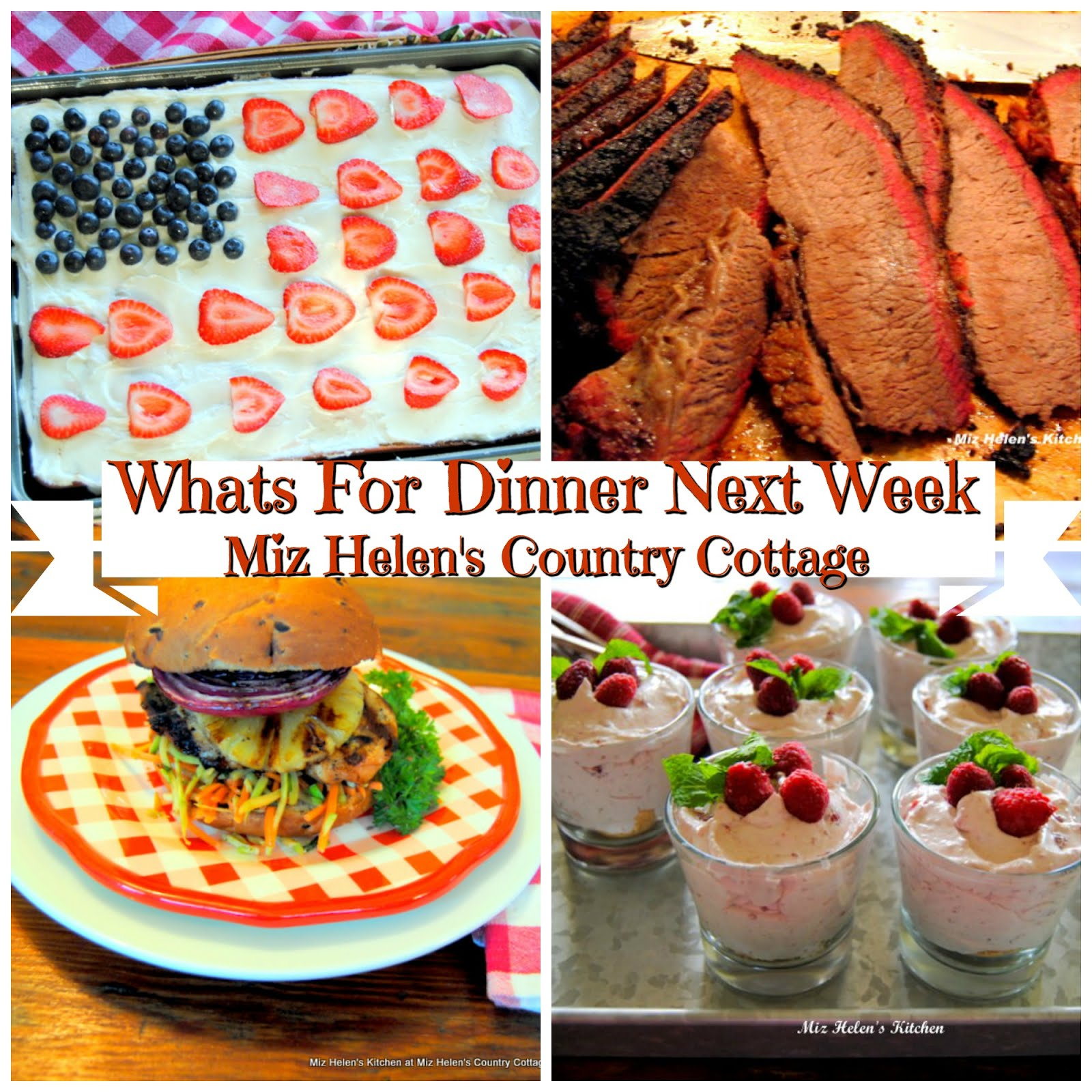 Whats For Dinner Next Week * Week of 5-26-19