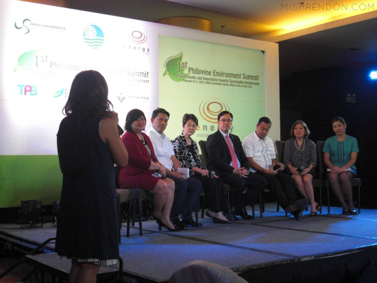 1st Philippine Environment Summit Launch