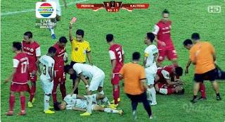 Persija Jakarta vs Kalteng Putra
