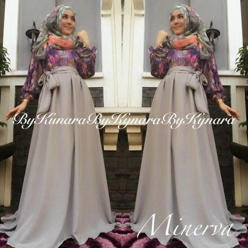 Baju Muslim Terbaru di Thamrin City - Minerva Dress By Kynara