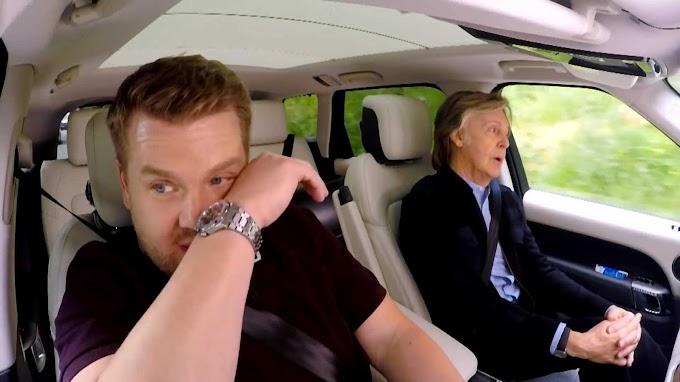 ポール・マッカートニー「Carpool Karaoke」出演