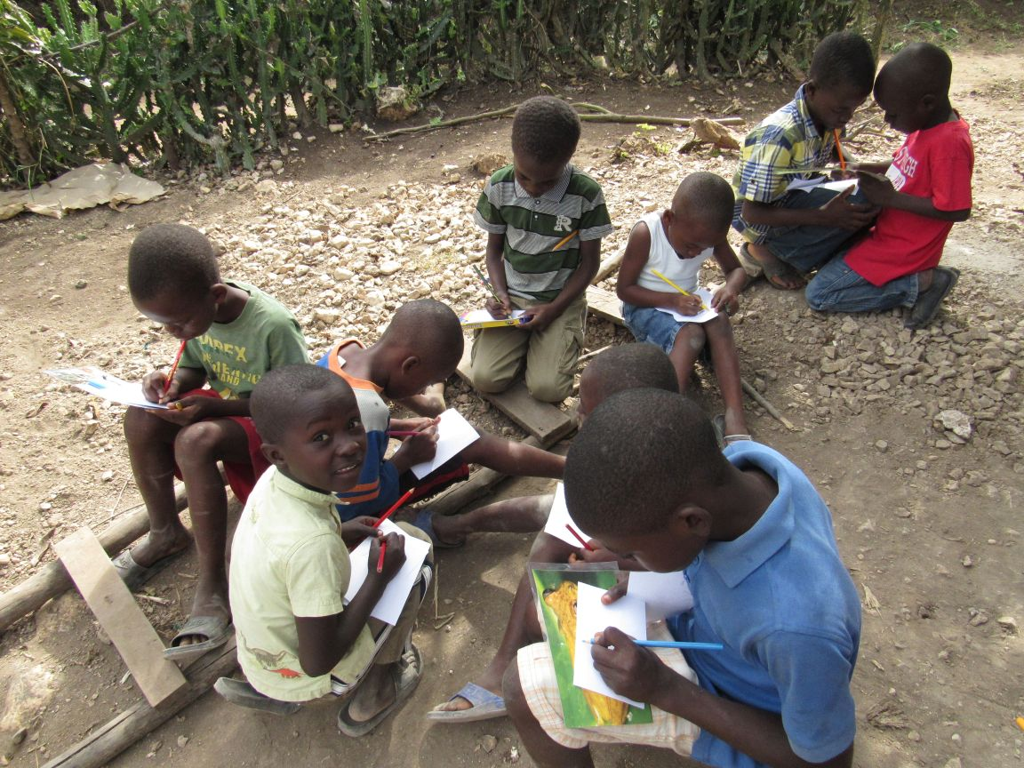 haiti education Hope for haiti, education, agriculture, children, health, development, ile-a-vache , chicken farm, sponsor a child, child sponsorship.