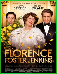 Florence Foster Jenkins (2016) | DVDRip Latino HD Mega