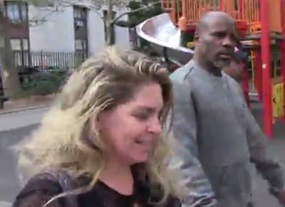 Rapper DMX pictured leaving Rehab...and it looks like he gained some weight