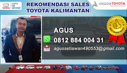 Rekomendasi Sales Anzon Toyota Sampit Kalimantan Tengah
