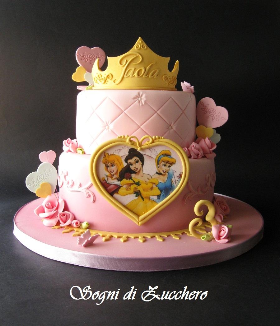 Princess Torte Birthday Cake