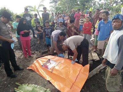 Mayat Pria Anonim di Pantai Way Cumuk Dievakuasi Polsek Limau ke Rumah Sakit