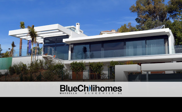 Blue Chili Homes Marbella, Modern Villa Design
