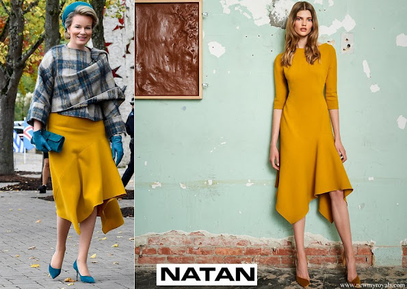 Queen-Mathilde-wore-a-yellow-dress-by-Natan-AW19-collection.jpg