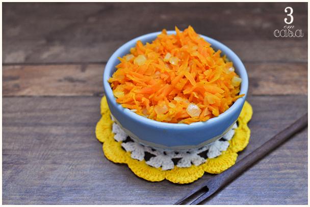 receita de cenoura refogada