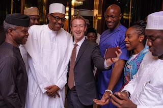 Mark Zuckerberg, Facebook, Nigeria, President Buhari, Nigerian blog, Twitter, Tourism in Nigeria, Visit Nigeria