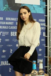 "Zoe Kazan At ""The Kindness Of Strangers"" Press Conference in Berlin"