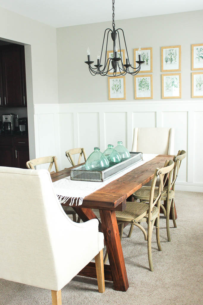 farmhouse dining room table