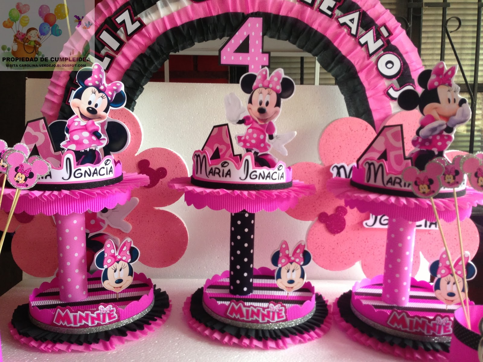 Decoraciones infantiles minnie mouse - Decoraciones de fotos ...