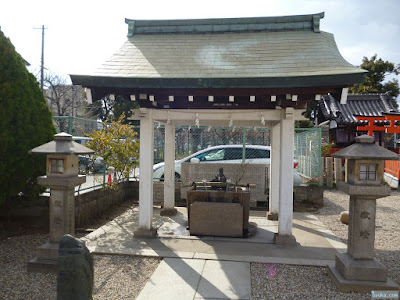 姫嶋神社手水舎