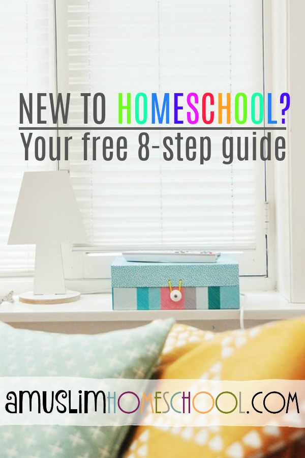free 8 step digital guide to starting homeschool